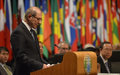 UN Secretary-General speaks at the General Assembly on the investigative team's Final Report